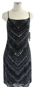 Scala Beaded Evening Criss Cross Dress