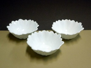 Set Of 3 Vintage Milk Glass Bowls In Sunflower Des