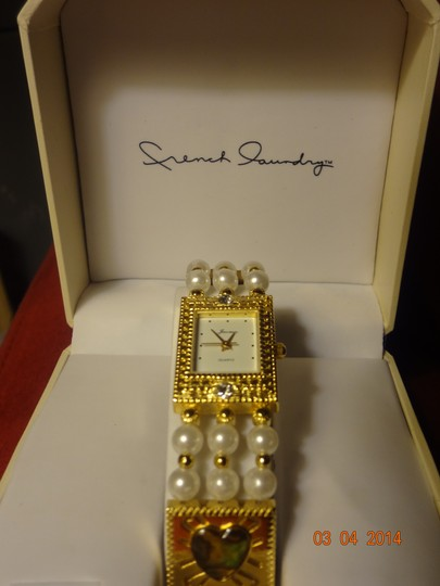 French Laundry Vintage Jacmor Gold-tone Watch by French Laundry