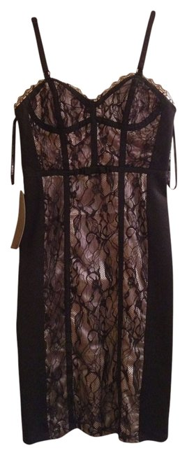 Preload https://img-static.tradesy.com/item/774428/bebe-black-above-knee-cocktail-dress-size-2-xs-0-0-650-650.jpg