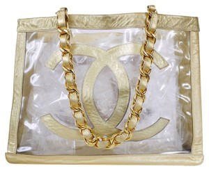 Chanel Vintage Tote in Gold