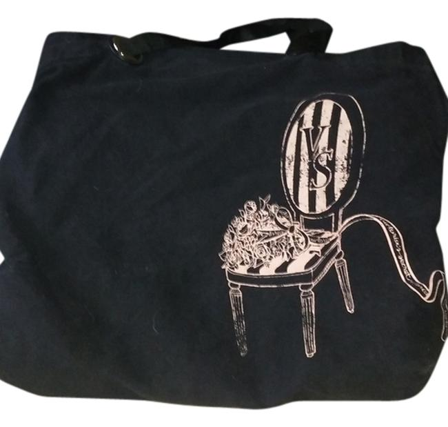 Item - Black with Pink Cotton Tote