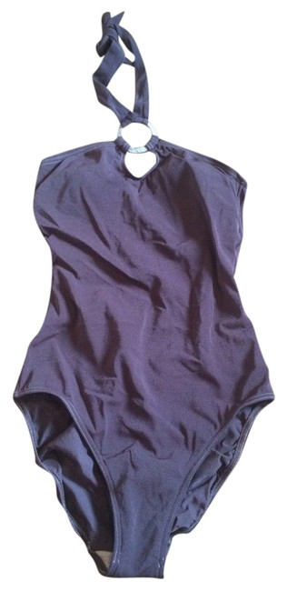 Item - Brown One-piece Bathing Suit Size 10 (M)
