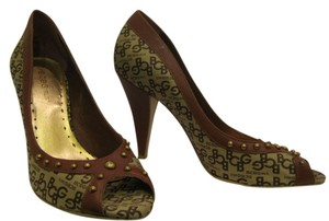 BCBG Brown Pumps