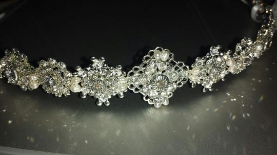 Erica Koesler Silver/Nickel Clear (Matte Finish) A-297 Hair Accessory