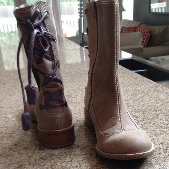 Anthropologie Light Brown Boots