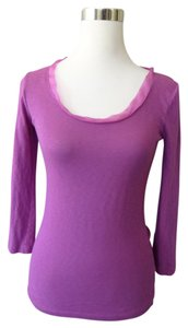 J.Crew 3/4 Sleeve Scoopneck Top