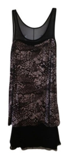 Preload https://item4.tradesy.com/images/kensie-blacktaupe-multi-layered-animal-print-above-knee-night-out-dress-size-2-xs-7753-0-0.jpg?width=400&height=650
