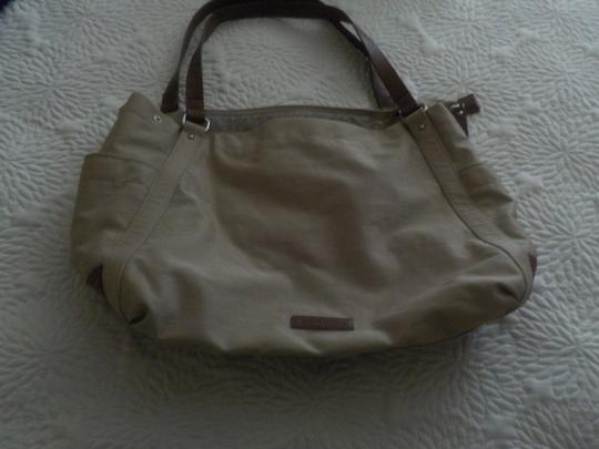 Banana Republic Tan Leather Everyday Commuter Fall Lightweight Shoulder Bag