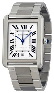Cartier CARTIER TANK SOLO XL WHITE DIAL AUTOMATIC MENS WATCH W5200028