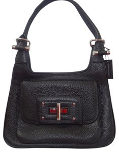 Banana Republic Leather The Handbag Collection Handbag Satchel in Black