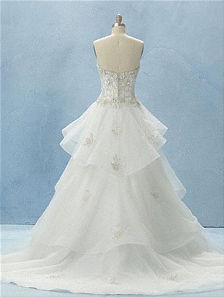 Alfred angelo disney collection wedding dress tradesy for Wedding dress disney collection