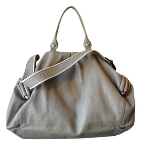 Giuseppe Zanotti Leather Satchel in Gray