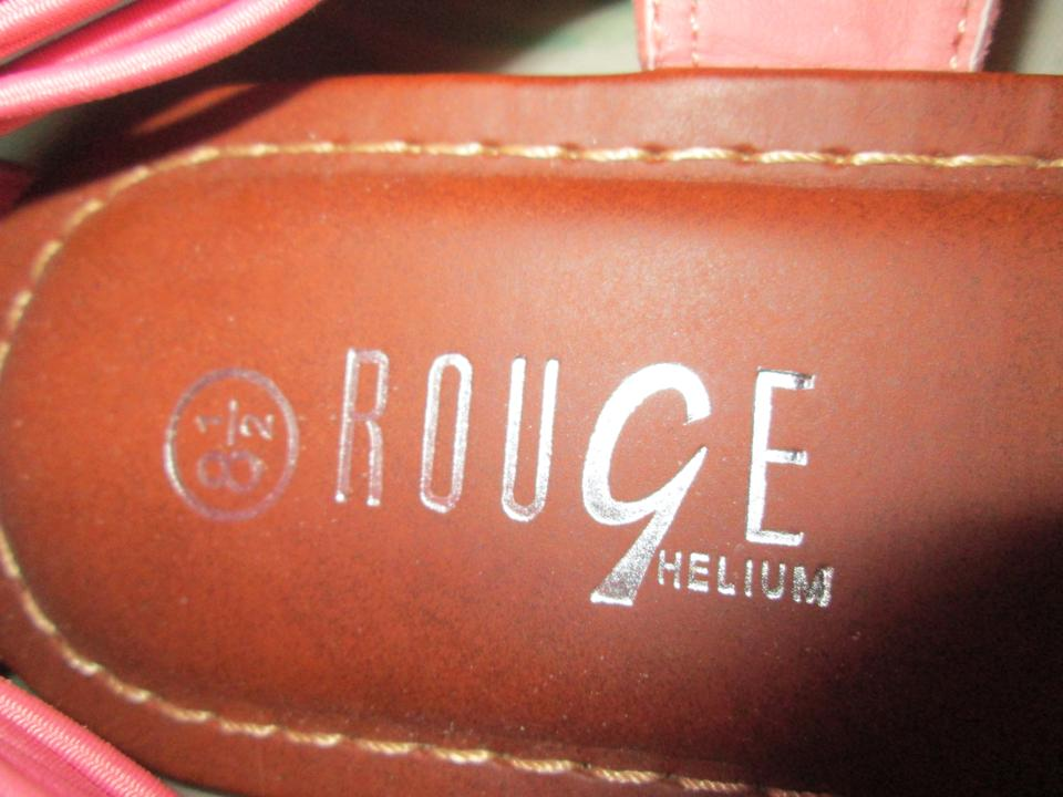 Rouge Helium Coral Pink Sandals Size 8 5 Rouge Helium