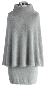 short dress healther grey Cape Sweater Skirt Angora on Tradesy
