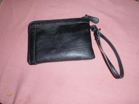 Franco Sarto Wallet Small Clucthes Clutches Wristlet in Black