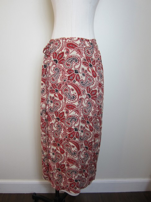 Oscar de la Renta Skirt Red