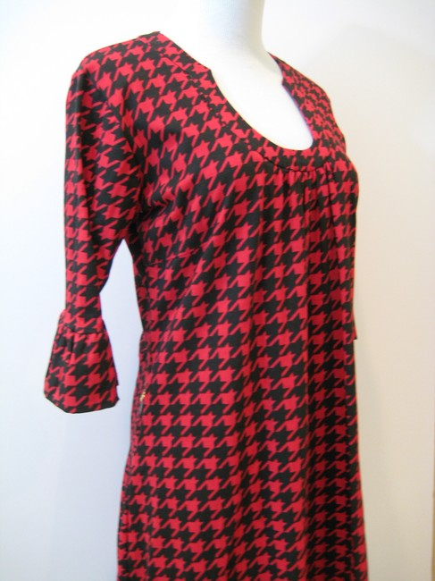Tracy Negoshian short dress Red, Black on Tradesy