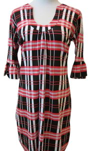 Tracy Negoshian short dress Black, White, Red on Tradesy