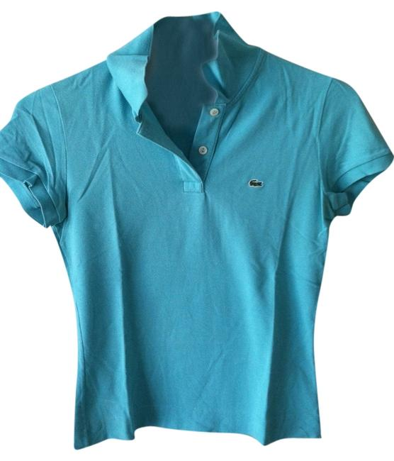 Preload https://img-static.tradesy.com/item/776758/lacoste-teal-button-down-top-size-6-s-0-0-650-650.jpg