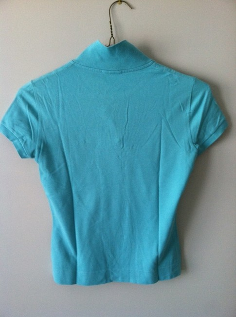 Lacoste Button Down Shirt Teal