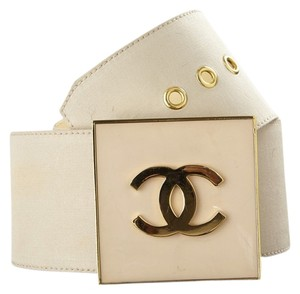 Chanel Chanel Fabric and Leather Belt