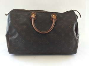 Louis Vuitton Handbag Speedy 35 Satchel in monogram