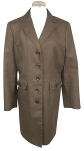 Ann Taylor Trench Lined Winter Trench Coat