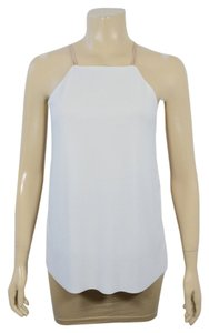 Zara Top BEIGE AND IVORY