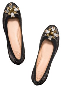 Tory Burch Anthracite/black Flats