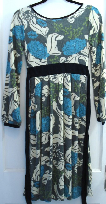 Aryeh short dress Multi Longsleeve Sweater Floral on Tradesy