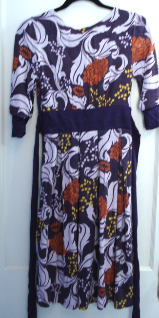 Aryeh short dress Multi Floral V-neck Sweater Sweater on Tradesy
