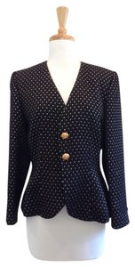 Yves Saint Laurent Black and gold Blazer