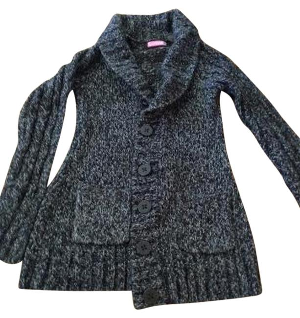 Item - Dark Gray Knit Thick Knit Cardigan Size 6 (S)