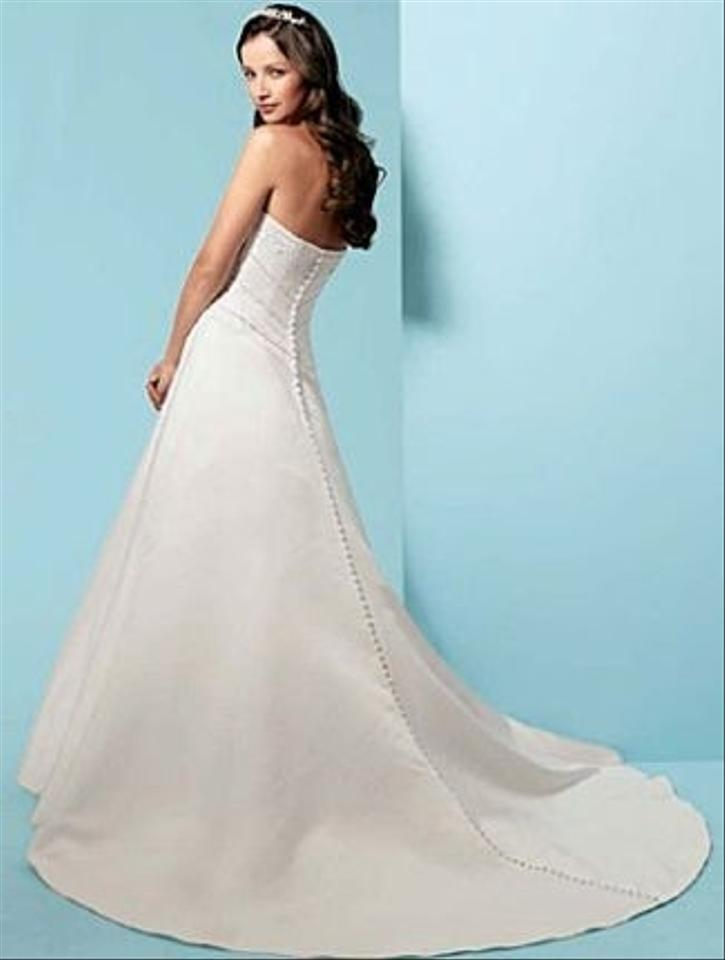 Alfred angelo style 1949 wedding dress tradesy weddings for D angelo wedding dresses