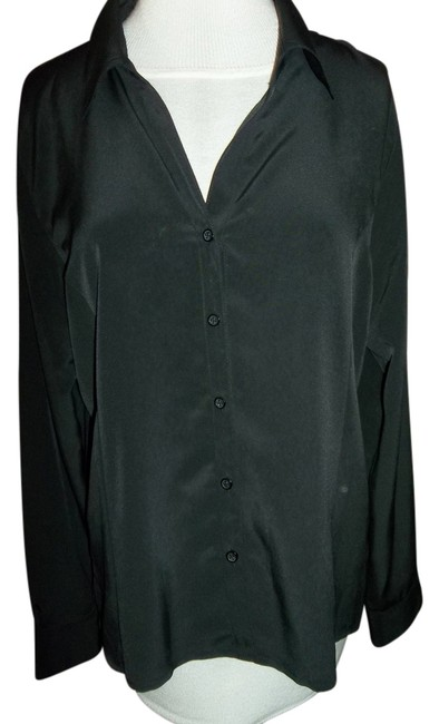 Notations Longsleeve Large Silky Feel Top Black