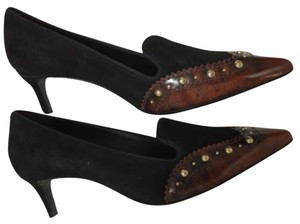 Tory Burch Leather Studded black Pumps