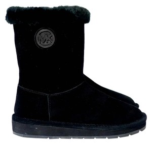 Michael Kors Mid Winter Monogram Black Boots
