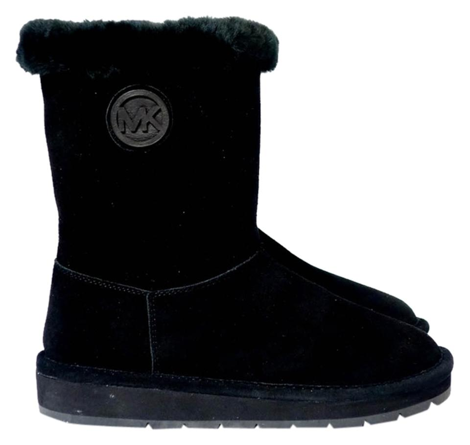 super billigt nya foton detaljerade bilder Michael Kors Black Winter Mid Boots/Booties Size US 5 Regular (M ...