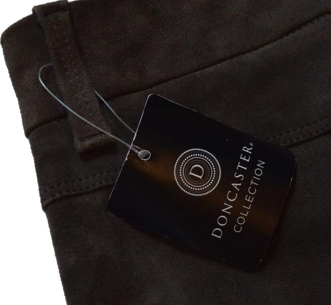 Doncaster Straight Pants Brown