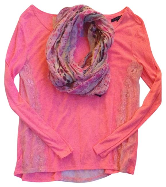 American Eagle Outfitters T Shirt Hot Pink