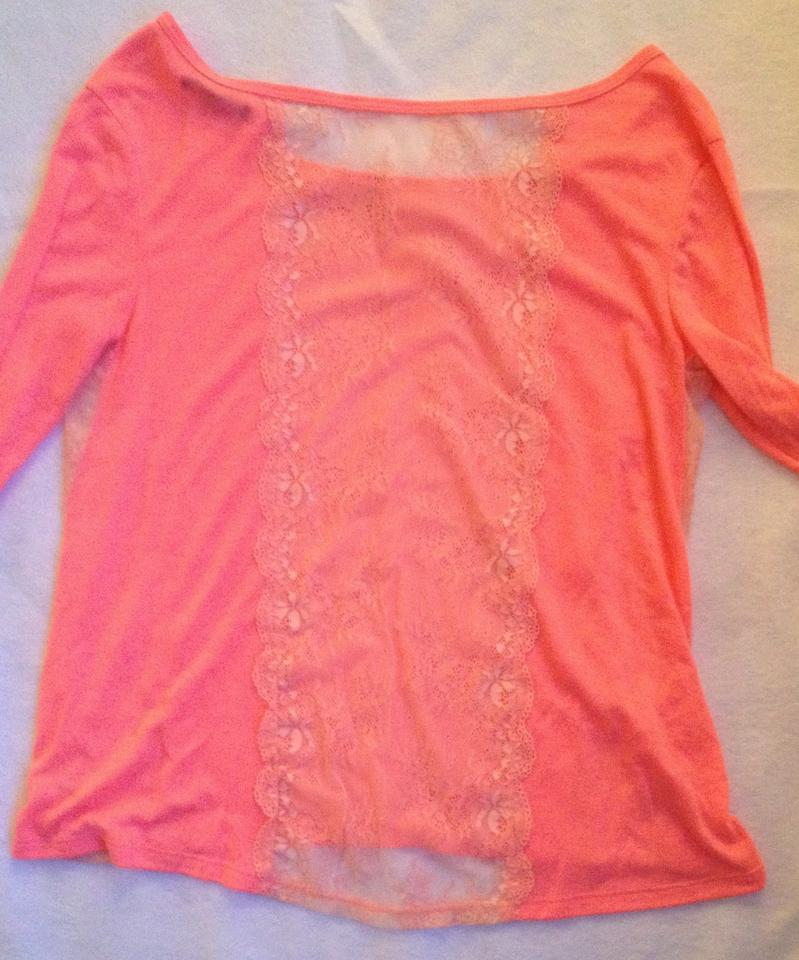 American Eagle Outfitters T Shirt Hot Pink 78 Off Retail