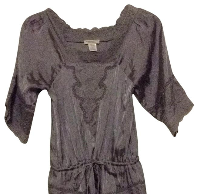 Preload https://img-static.tradesy.com/item/778201/moon-collection-gray-blouse-size-6-s-0-0-650-650.jpg