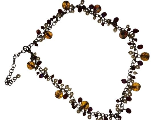 Preload https://item5.tradesy.com/images/pearl-red-amber-irridescant-multi-color-beaded-necklace-778239-0-0.jpg?width=440&height=440