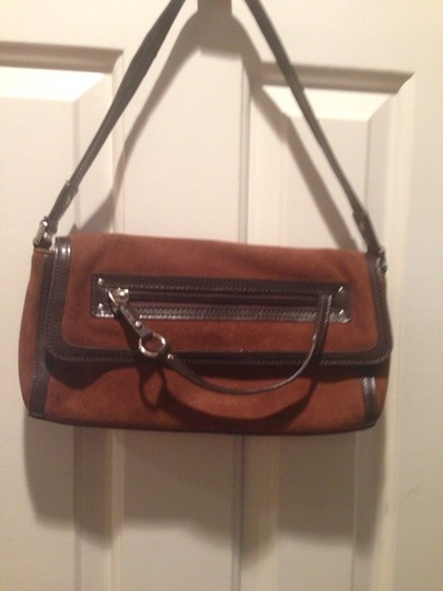 Ann Taylor Satchel in BROWN