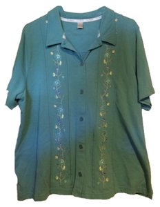 C J Banks Button Down Shirt Multi