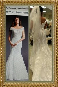 Oleg Cassini Cwg533 Wedding Dress