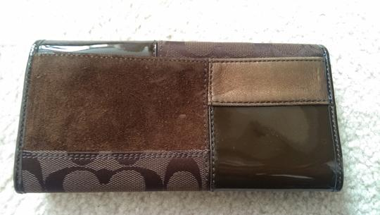 Coach LIMITED EDITION COACH PATCHWORK WALLET