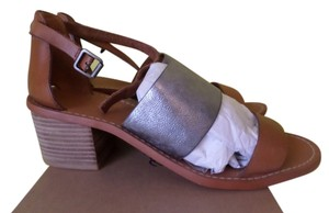 Madewell Strappy Sandal Pecan/Silver Bronze Sandals