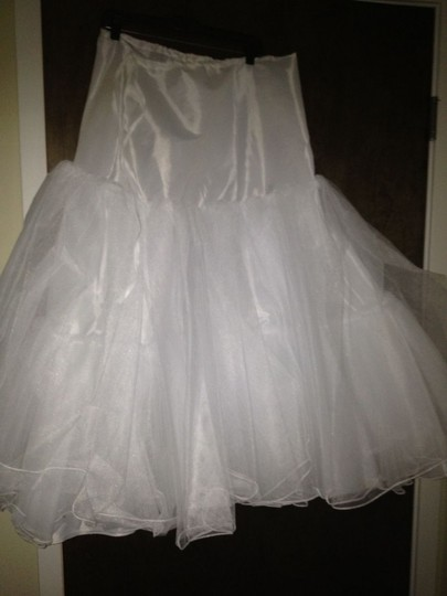 White Bridal Petticoat - One Size Fits All